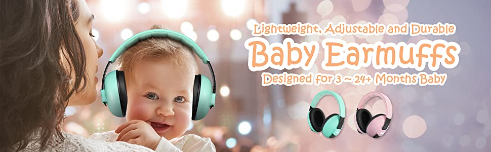 Amazon Com Baby Ear Protection Noise Cancelling Headphones For Babies And Toddlers