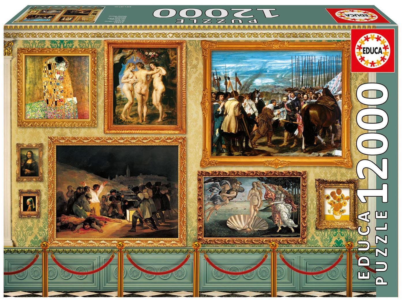 Educa Borrás - Grandes Obras de Arte Puzzle, 12000 piezas (17137 ...