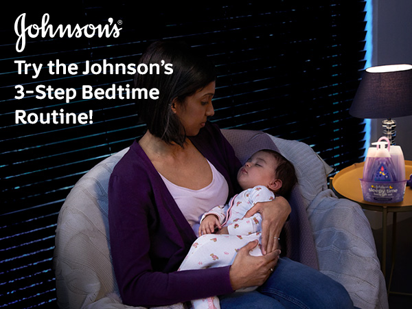 Johnson's Baby - Try the Johnson's 3-step Bedtime Routine!