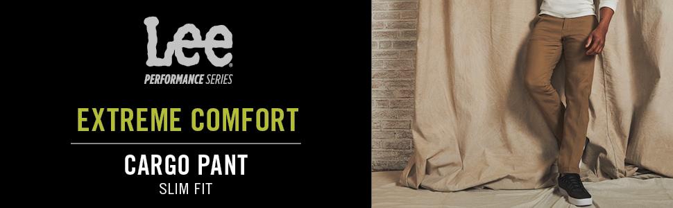 Lee Men's Performance Series Extreme Comfort Cargo Slim Pant