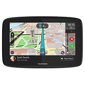 TomTom Trucker 620 6 Inch Gps Navigation Device For Trucks with Wi-Fi Connectivity, Smartphone Services, Real Time Traffic And Maps Of North America 1
