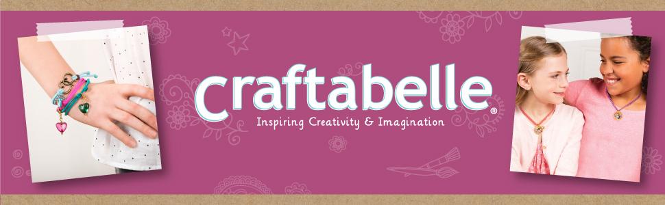 craft set art diy kit set creation create supplies jewelry bracelet decor hobby kids teens children
