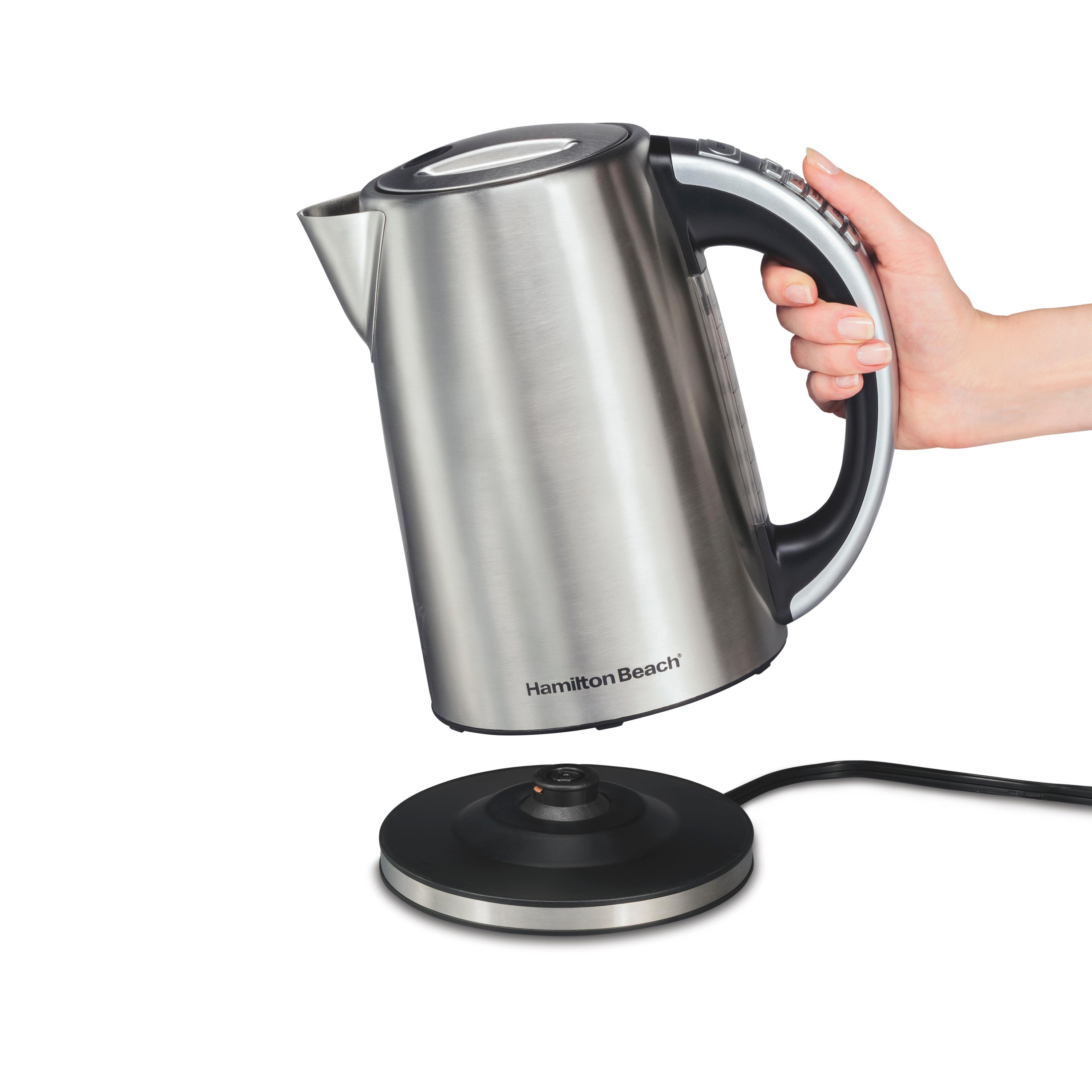 Stainless Electric Kettle ~ Amazon hamilton beach electric kettle l