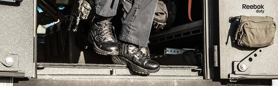 RB8874, reebok duty, reebok work, rapid response, tactical boot, 8 inch tactical boot, comp toe