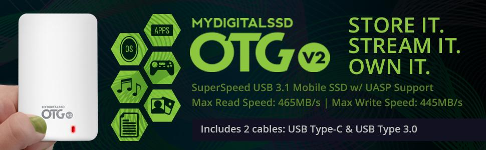 MDSSD OTG for on-the-go storage