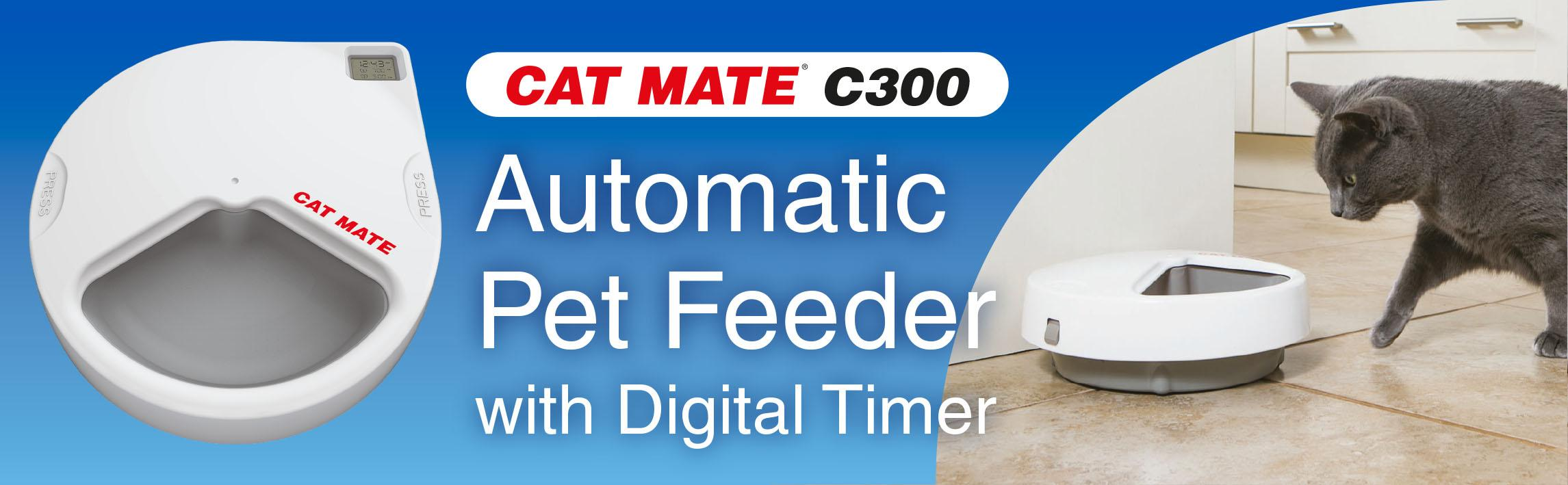 Amazon Com Cat Mate C300 Automatic 3 Meal Pet Feeder