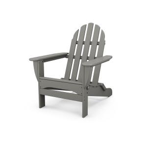 Slate adirondack chair