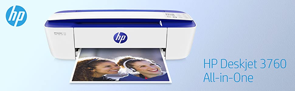 HP DeskJet 3760 All-in-One Printer, HP All in one Printer, HP Printer, HP DeskJet Printer, AiO Print