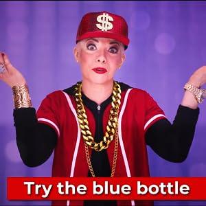 tend skin blue bottle