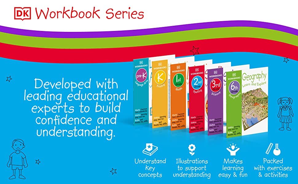 workbooks for kindergarten kids including activities, english math workbooks for kids
