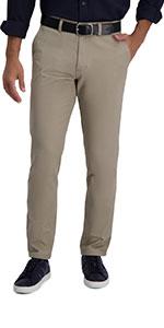 Haggar, haggar motion khaki, motion khaki, casual pants, casual khakis, slim straight fit, flat