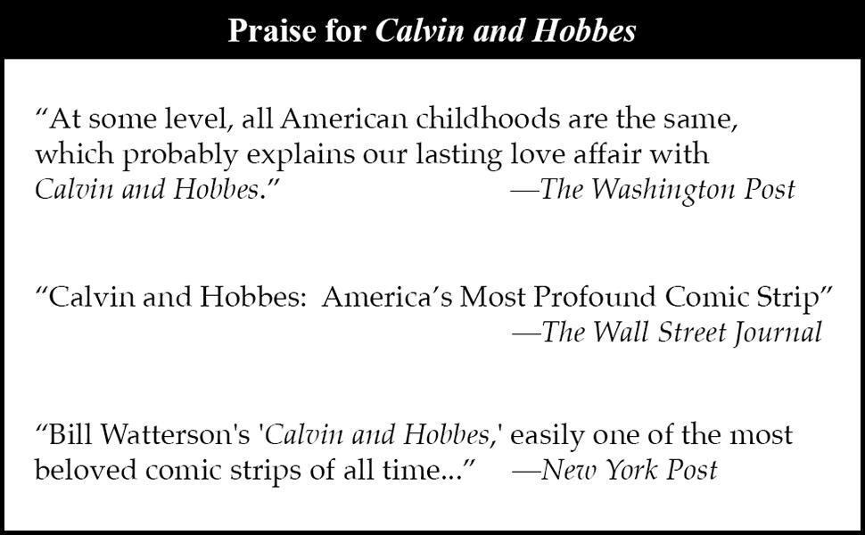 praise for calvin