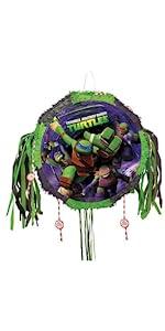Teenage Mutant Ninja Turtles Glow Flying Disc Unique Party Favors 66469