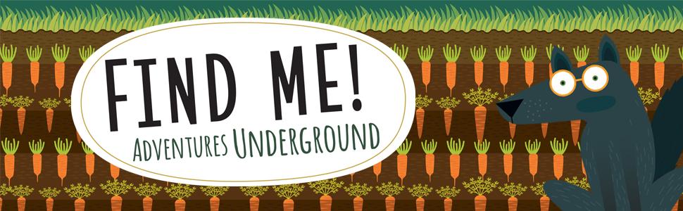 adventures underground, agnese baruzzi, animal illustrations