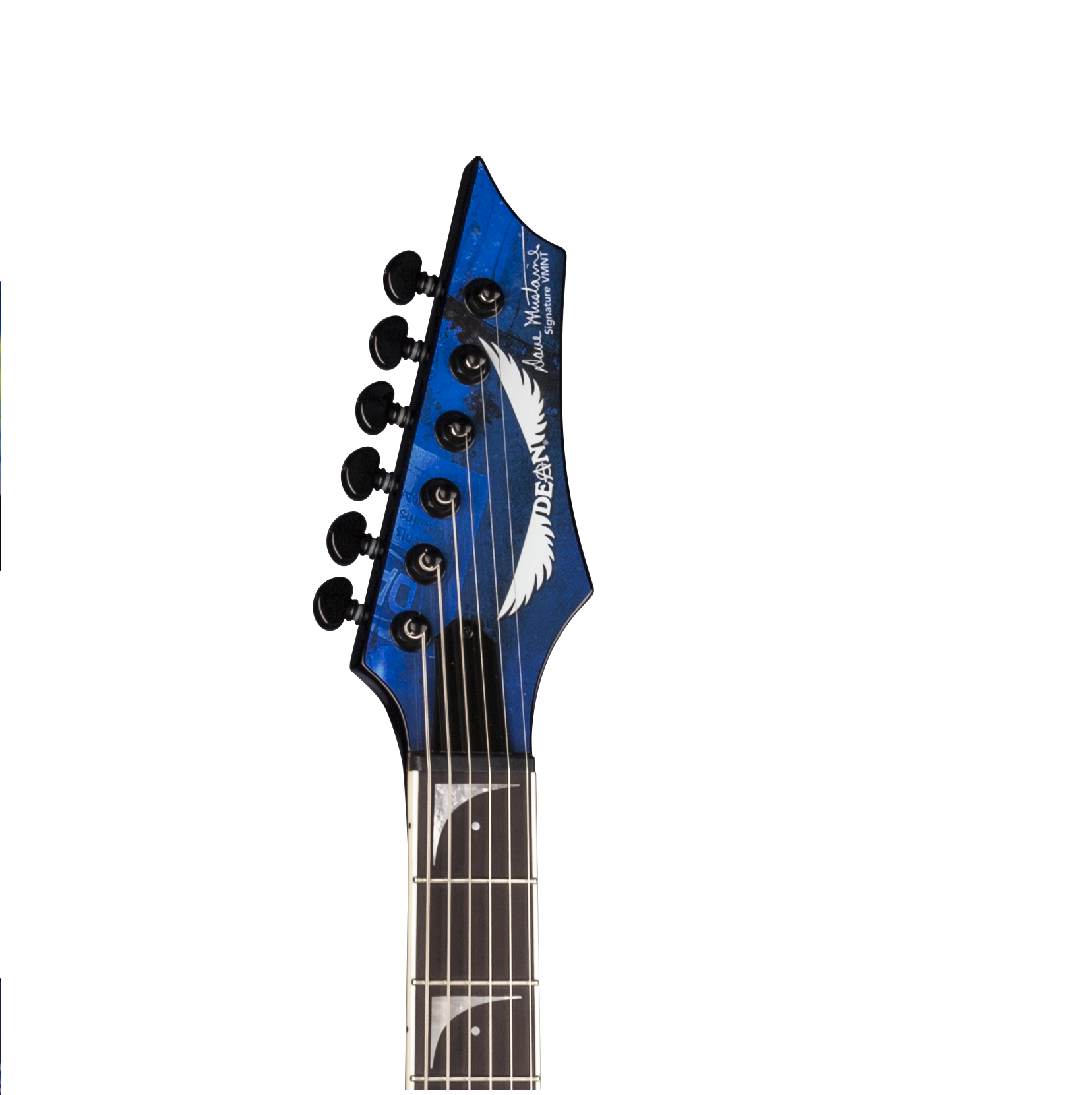 dean v dave mustaine guitar rust in peace with case