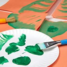 green paint, washable kids paint, washable paint,