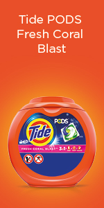 Tide PODS Fresh Coral Blast