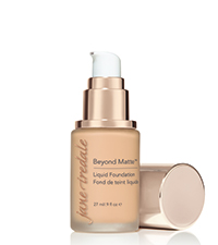 jane iredale beyond matte liquid foundation full coverage vegan skincare makeup clean