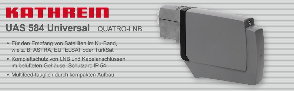 Kathrein UAS 584 Universal Quatro-LNB