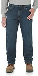 Wrangler Riggs Workwear FR Advanced Comfort Relaxed Fit Jean