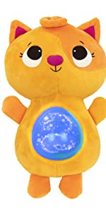 soft toy, baby toy, plush, interactive, stuffed animal, cat, songs, lights, bedtime, naptime, sleep