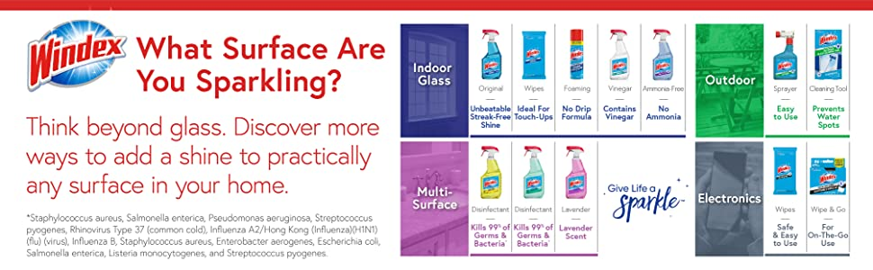 Windex. What surface are you sparkling?