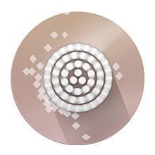 Braun Facespa 851V Epilatore per Viso 3 in 1, Spazzola di Pulizia e Batterie Supplementari