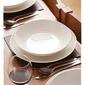 Amazon.com: Royal Doulton 8574021736 Gordon Ramsay Maze White 16 ...