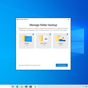 Microsoft office; onedrive backup