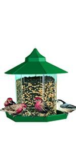 Gazebo Wild Bird Feeder