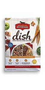 Dish From Rachael Ray Nutrish Beef And Brown Rice Recipe With Veggies Fruit And Chicken Zero Grain Turkey And Potato Recipe Chicken Mutt With