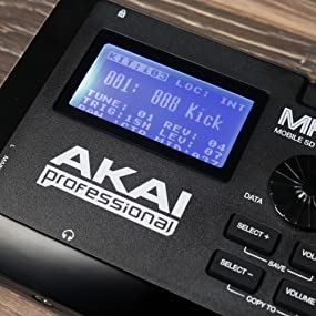 Amazon.com: Akai Professional MPX8 | 8-Pad Sample Player with SD ...