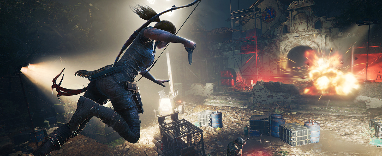 Amazon Com Shadow Of The Tomb Raider Playstation 4 Square Enix