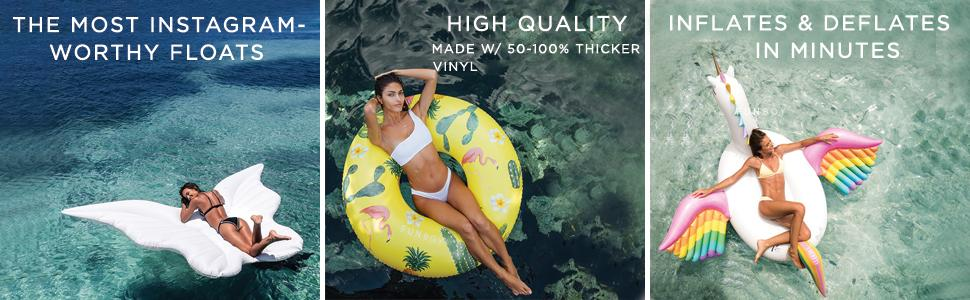 pool float, pool floatie, pool toys, luxury float, luxury pool accessories, luxury pool float