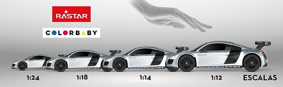 Rastar 41128 Lamborghini Aventador Coche radio control 1:14