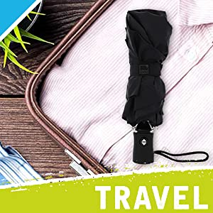 suitcase backpack purse tote briefcase bag packing umbrella trip plane airplane tsa car trucker