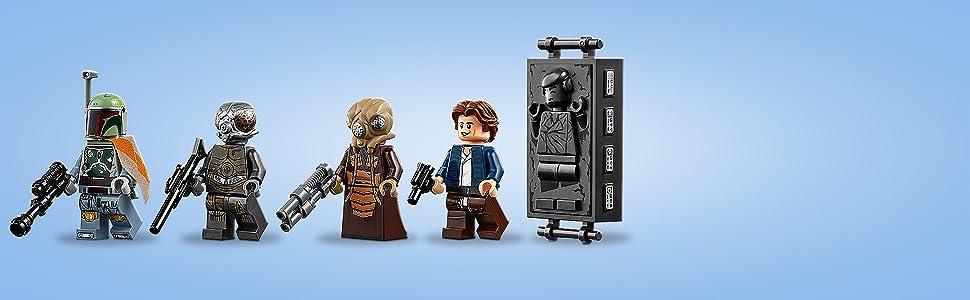 Lego Star Wars Figur Zuckuss aus Set 75243