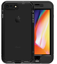 new concept 741f8 aa2de Amazon.com: Lifeproof FRĒ SERIES Waterproof Case for iPhone 8 Plus ...