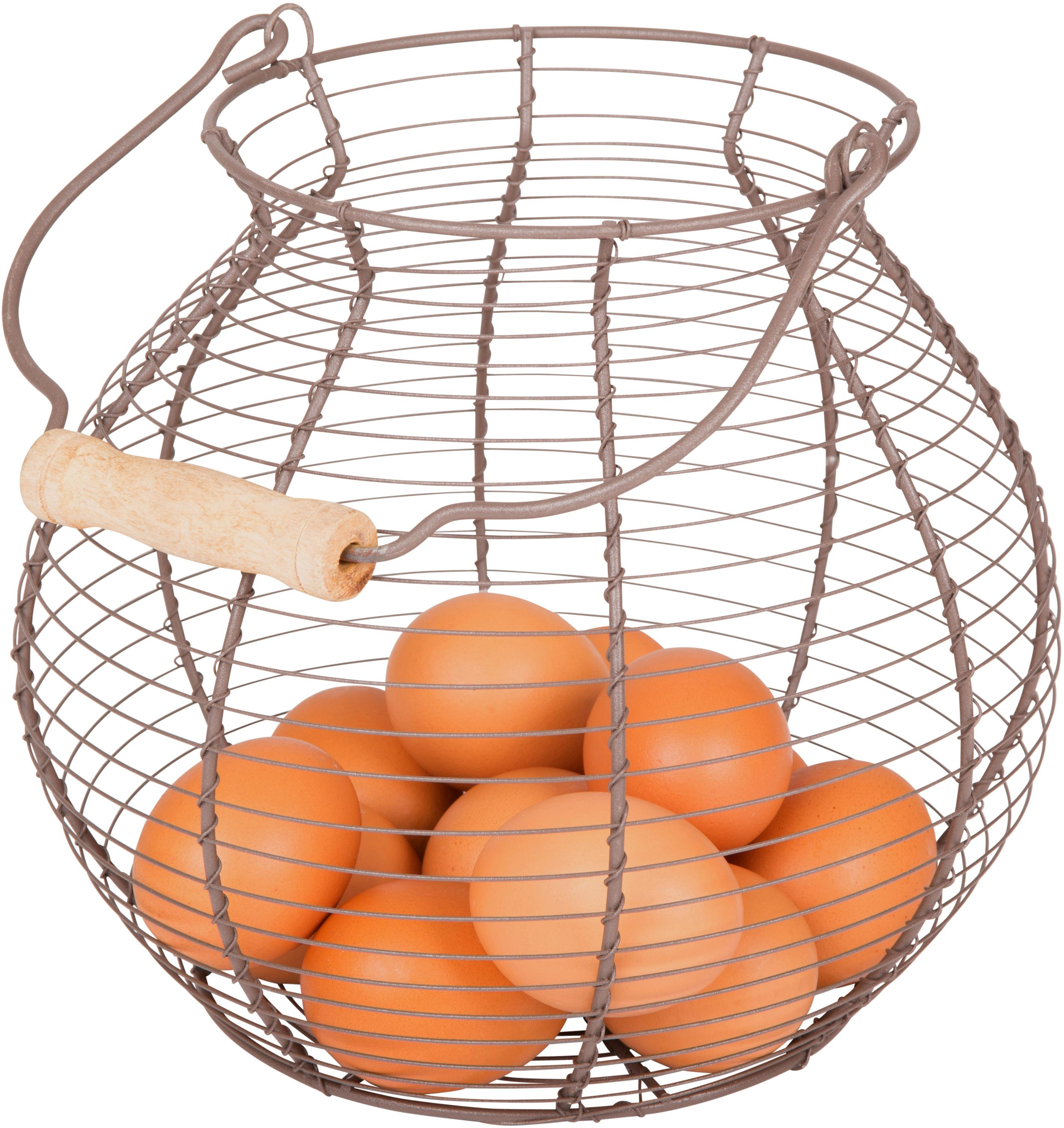 Amazon Com Wire Egg Basket Vintage Style By Trademark