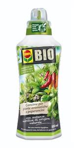 Concime biologico liquido aromatiche