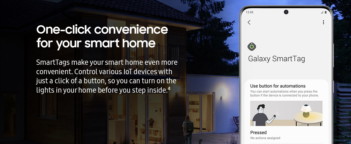 One-click convenience for your smart home