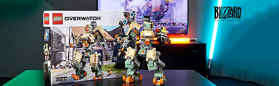 LEGO Overwatch Bastion