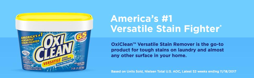 Amazon Com Oxiclean Versatile Stain Remover Powder 7 22
