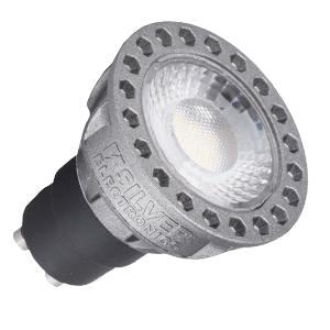 Bombilla Silver Electronics LED Compact 8W GU10 3000K