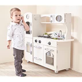 Genial Teamson Kids Play Kitchen White Pink Boys Girls