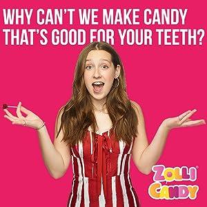 zollipops, sugar free candy, anti cavity, clean teeth, healthier smile, guilt-free treats