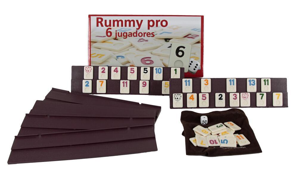 Aquamarine Games - Rummy, 6 jugadores (DO001) , color/modelo surtido: Amazon.es: Juguetes y juegos