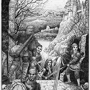 adventure, exploration, castle, warrior, rogue, knights, fantasy, dark fantasy, middle ages, rpg