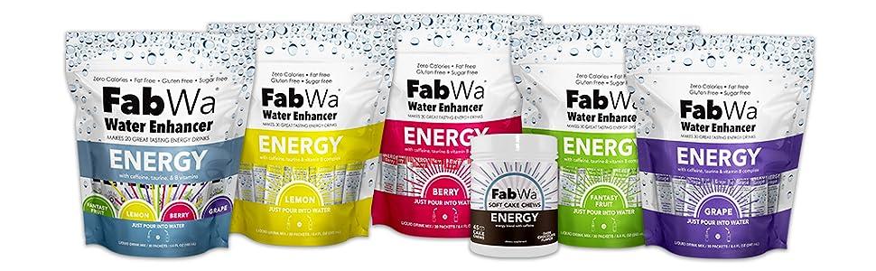 Energy caffeine chews drink