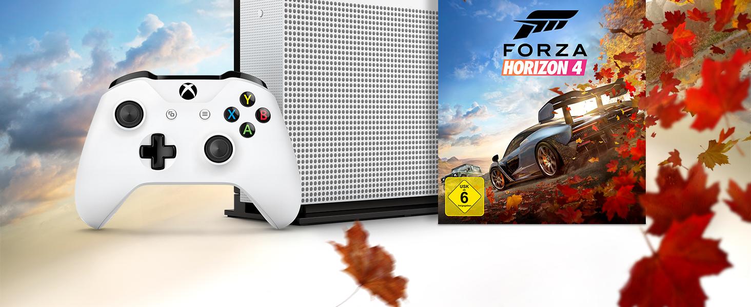 Xbox One S 1TB Forza Horizon 4 Bundle